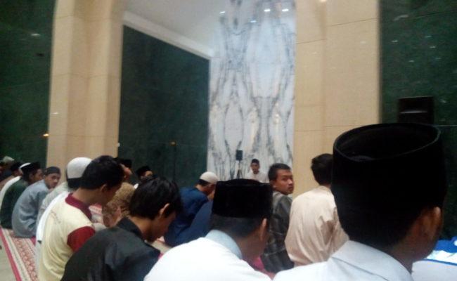 Berbeda ! IMM Se- UAD Menggelar aksi dengan Do'a bersama
